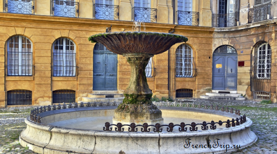 Aix-en-Provence fountain Достопримечательности Экс-ан-Прованса