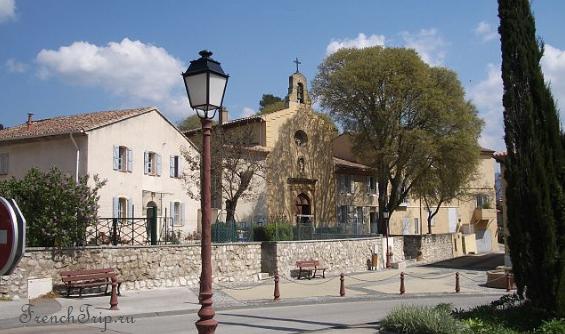 Aix-en-Provence historical routes around Meyreuil