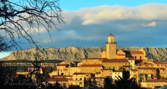 Aix-en-Provence historical routes around fuveau