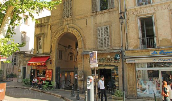 Aix-en-Provence passage agard