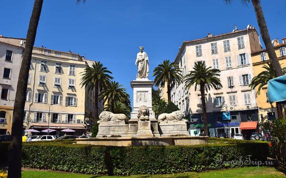 Ajaccio Napoleon monument