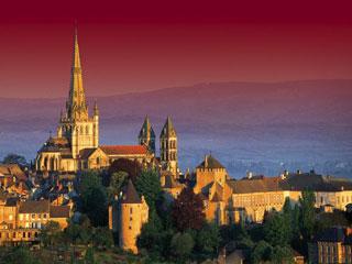 Отен - 10 самых красивых городов в Бургундии