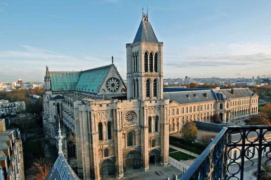 Basilique Saint-Denis (Базилика Сен-Дени)