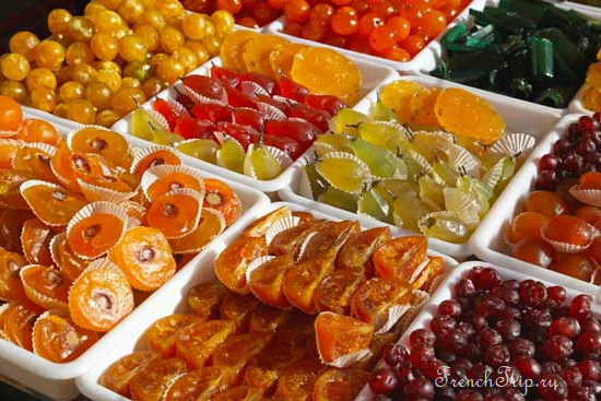 Карамелизированные фрукты из Апта
