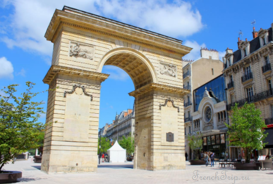 Достопримечательности Дижона - Триумфальная арка, что посмотреть в Дижоне, путеводитель по городу Дижон
