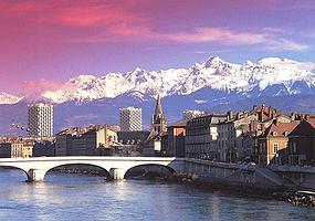 Grenoble (Гренобль) - путеводитель по Греноблю, Регион Рона-Альпы, Франция