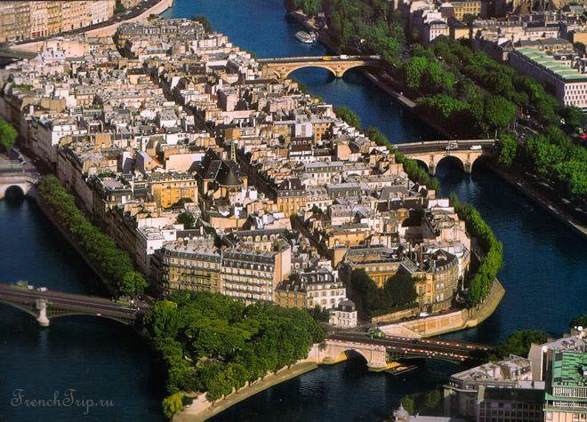 Ile Saint Luis Cite Paris