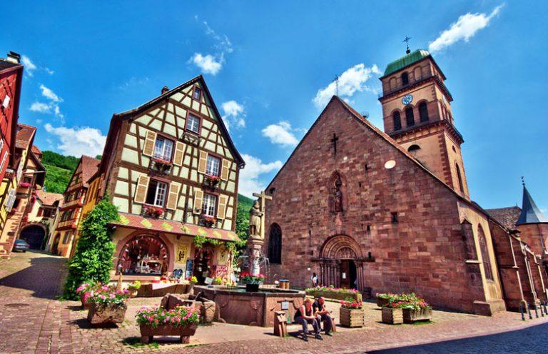 Kaysersberg, Alsace - Топ-10 мест в Эльзасе