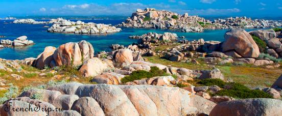 В окрестностях Бонифачо: острова Лавецци, круизы на острова Лавецци, цены