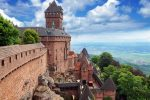 Le château du Haut-Koenigsbourg - Замок От Кенигсберг. Эльзас. Alsace