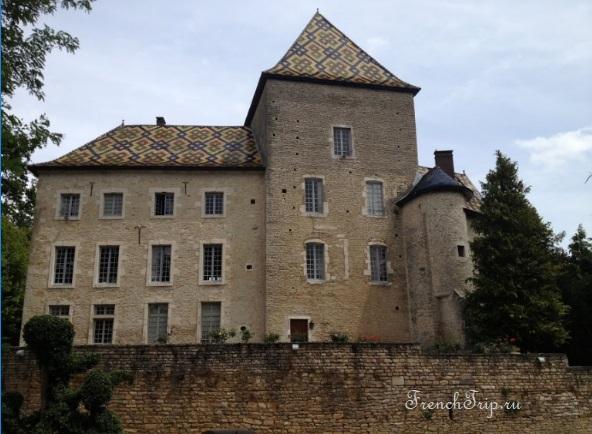 Santenay (Сантене), Бургундия, Франция