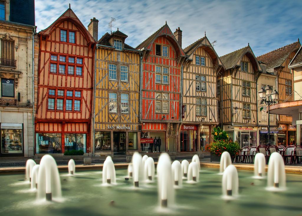 Troyes (Труа), Шампань, Франция - достопримечательности, путеводитель