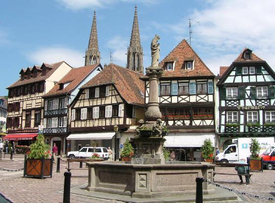 obernai, Alsace - Винная дорога Эльзаса