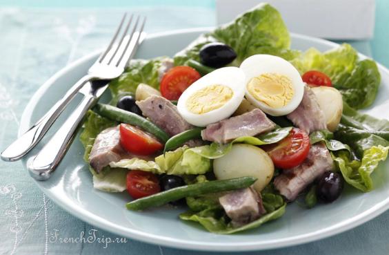 salade niçoise nice cuisine, french cuisine, provencal cuisine