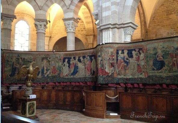 Гобелен в церкви Нотр-Дам, город Бон (Beaune), Бургундия - история Бона