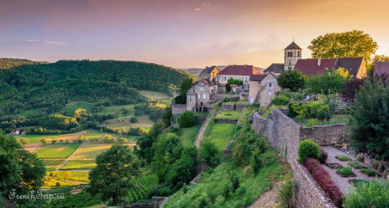Château-Chalon (Шато-Шалон), регион Франш-Конте, Франция