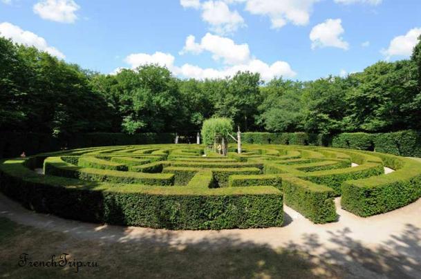 Château Chenonceau Loire castles Замок Шенонсо Лабиринт