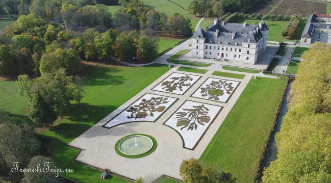 Château d Ancy-le-Franc - Burgundy castle