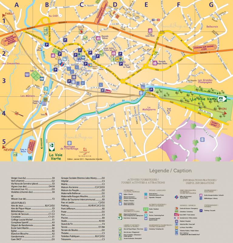 Карта Шаньи