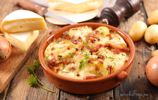 Chambery Savoya Cuisine traditional dishes Tartiflette