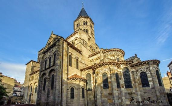 Clermont-Ferrand - Клермон-Ферран - достопримечательности, маршрут по городу, что посмотреть, фото - basilique