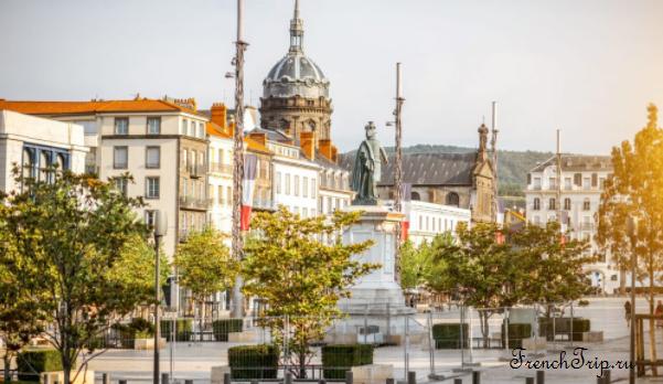 Clermont-Ferrand - Клермон-Ферран - достопримечательности, маршрут по городу, что посмотреть, фото - city