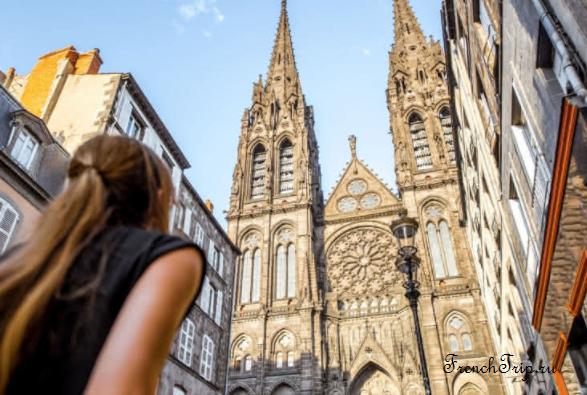 Clermont-Ferrand - Клермон-Ферран - достопримечательности, маршрут по городу, что посмотреть, фото - to see