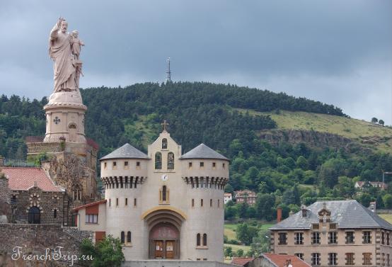Le Puy en Velay Ле Пюи-ан-Веле, Франция, Овернь - sanctuaire Saint-Joseph de Bon-Espoir В окрестностях Ле Пюи-ан-Веле: что посмотреть вокруг Ле Пюи: замки и интересные города недалеко от Ле Пюи: базилика Святого Иосифа Бон-Эспуара в Эспали