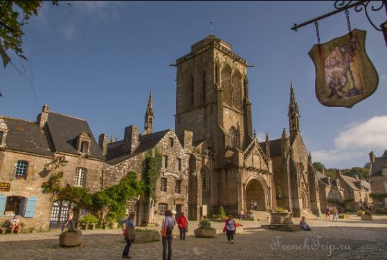 Locronan Petites cités de caractère (Самые характерные городки Франции)