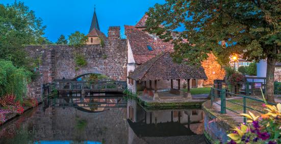 Wissembourg (Висамбур / Виссембург), Эльзас, Франция - лучший путеводитель по городу! Как добраться: расписание. Что посмотреть: достопримечательности, фото