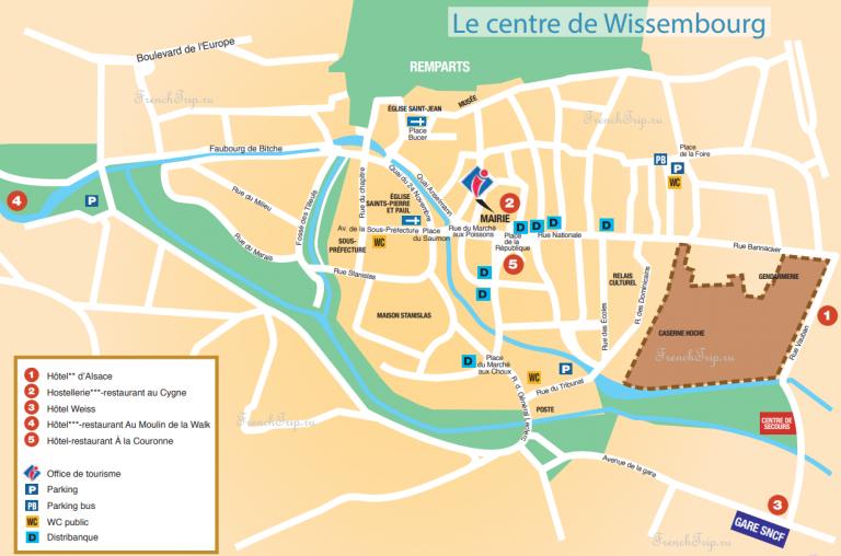 Карта Висамбура