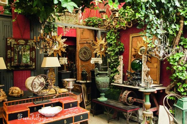 Блошиные рынки в Париже - Antique flea market paris