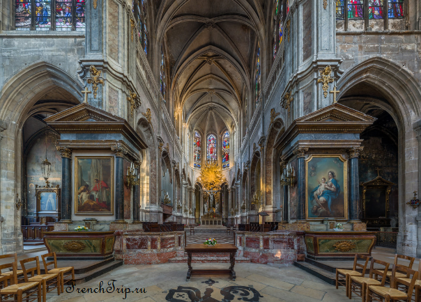 Saint-Merri Paris Достопримечательности Церкви Парижа Церкви Парижа