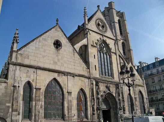 Saint-Nicholas-des-Champs Paris Достопримечательности Церкви Парижа