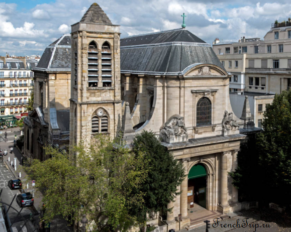 Saint-Nicolas-du-Chardonnet Paris Достопримечательности Церкви Парижа