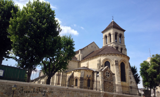 Saint-Pierre de Montmartre Paris Достопримечательности Церкви Парижа