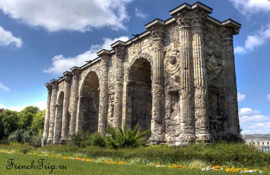 Исторические достопримечательности Реймса - Reims-Porte-Mars