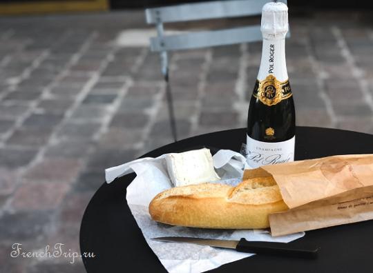Reims-champagne-baguette Дегустация шампанского