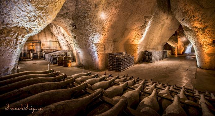 Дома шампанских вин в Реймсе