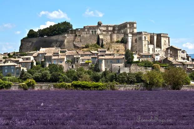Le château de Grignan, Drome