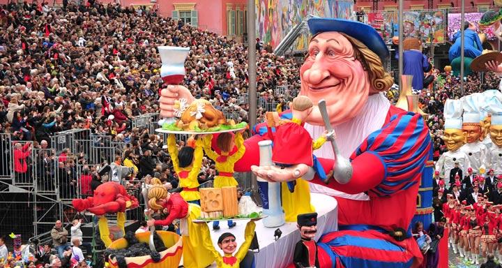 Карнавал в Ницце Карнавалы во Франции