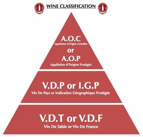 Классификация французского вина, виды французского вина, лучшие французские вина, как определить по этикетке качество вина, что значит AOC, французские вина, французское вино,