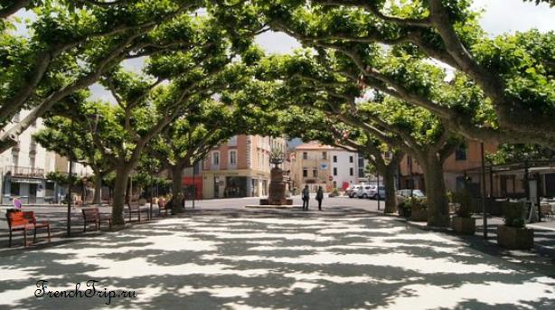 Prades (Прад), Лангедок-Русильон, Франция - путеводитель по городу