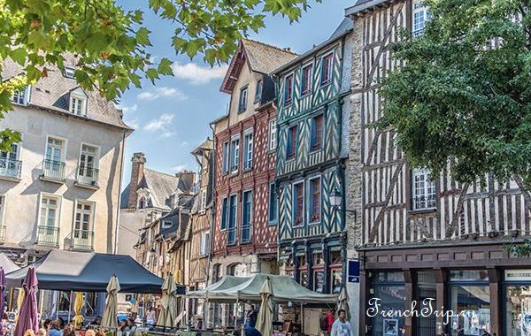 Ренн, Франция - путеводитель по городу, достопримечательности Ренна, что посмотреть в Ренне, как добраться в Ренн, фото Ренна