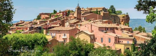 Rousillon, Provence, France 10 лучших деревень департамента Воклюз