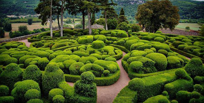 Aquitaine - Les jardins de marqueyssac ...