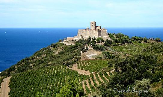 Collioure (Коллиур), Лангедок-Русильон, Окситания, Франция - путеводитель по городу, достопримечательности, что посмотреть, фото, карта, как добраться
