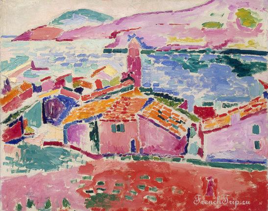 Collioure (Коллиур), Лангедок-Русильон, Окситания, Франция - путеводитель по городу, достопримечательности, что посмотреть, фото, карта, как добраться Матисс