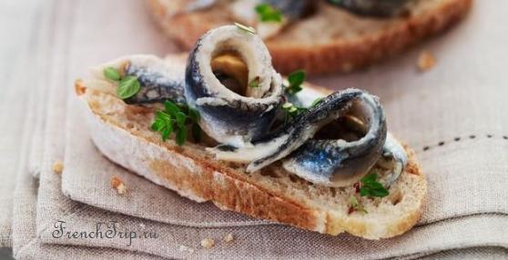 Collioure France anchois