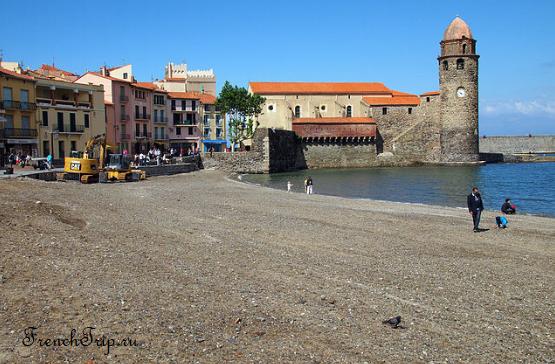 Collioure (Коллиур), Лангедок-Русильон, Окситания, Франция - путеводитель по городу, достопримечательности, что посмотреть, фото, карта, как добраться пляжи